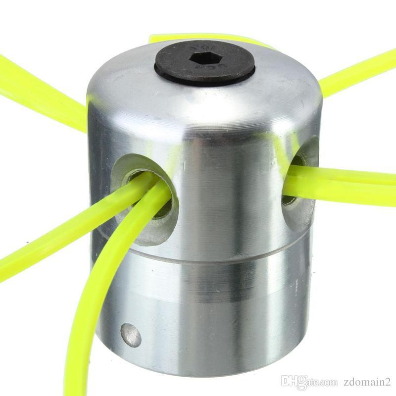 Universal Aluminum Line Bump Cutting Trimmer Head Bobbin Parts Sets Brushcutters Replacement Lawn Mower Cutter Accessories