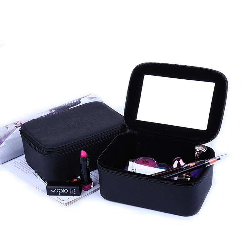 2017 Luxury Cosmetic Bag Professional Make Up Bags Travel Makeup Case  Beauty Necessaries Toiletry Bag Women Travel Organizer Box Beauty Online  Buy Cosmetics ... c11f82669a760