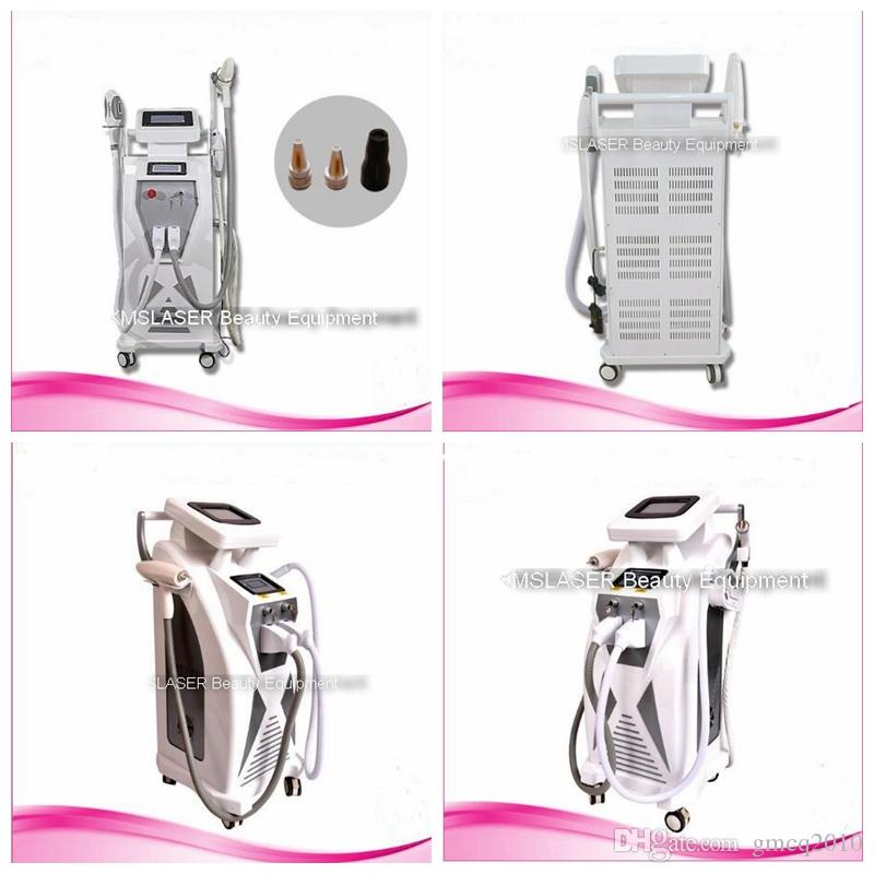 Quality Guarantee UPDATED 3-1 ELight IPL + RF + YAG LASER beauty machine for Hair Removal Tattoo Removal Skin Rejuvenation Acne Treatment