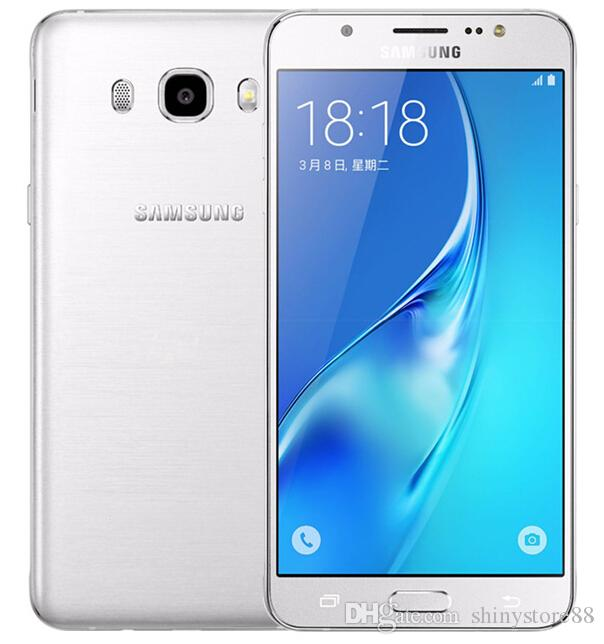 Refurbished Original Samsung Galaxy J5 2016 J5108 Unlocked Cell Phone Quad Core 2GB/16GB 5.2 Inch 13MP Dual SIM 4G LTE