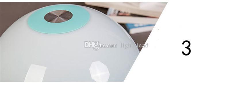i Scolorimento automatico Ricarica Lettura LED Lampada da scrivania a fungo Shield Eye Touch Dimmer Luce notturna a led colorata Lettino bambini