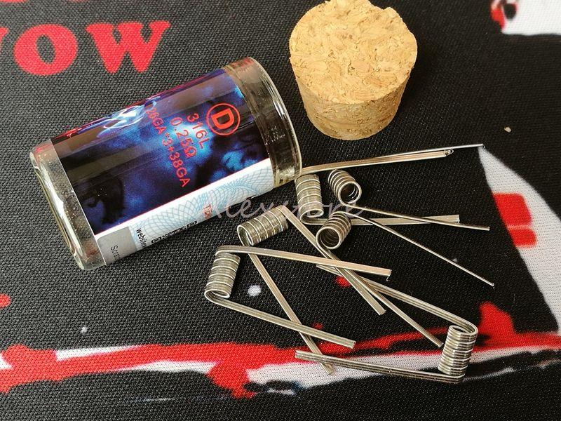 100% Authentic Demon Killer Flame Coil Prebuilt Wire 316l Pre Built ...