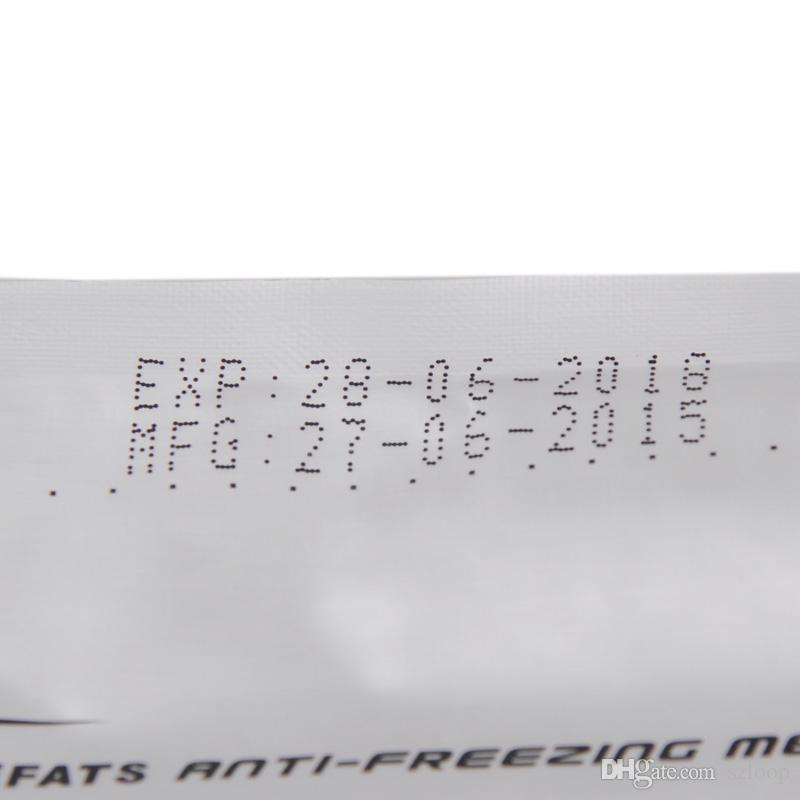 Frostschutzmembran 27 * 30 cm 34 * 42 cm-Creme-Frost-Antifreezing-Anti-Frost-Pad für Kryotherapie-Multi-Größen