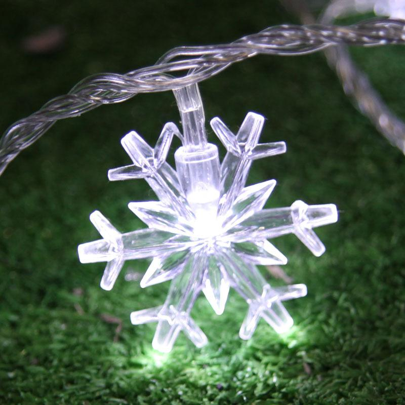 5M natal Christmas Led String Lights Xmas Tree Fairy Light Decorative Snow Lights Tree Garland Christmas Tree Decorations
