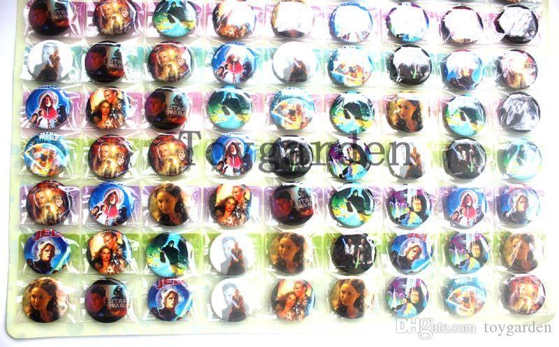 Venta al por mayor a la venta 540 Unids Insignia Botones de Seguridad para Niños Regalos de Fiesta Diámetro 25mm envío gratis