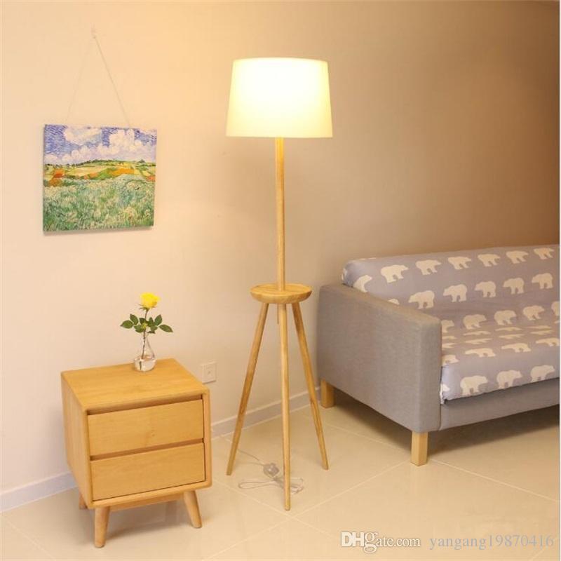 Stehlampe Für Schlafzimmer großhandel nordic massivholz stehlampe zimmer schlafzimmer