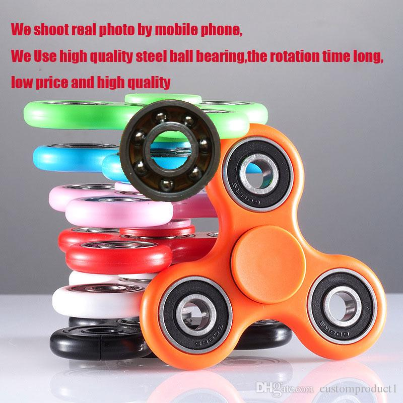 Wholesale Fid Spinners Metal Toy Triple Threat Hand Spinner