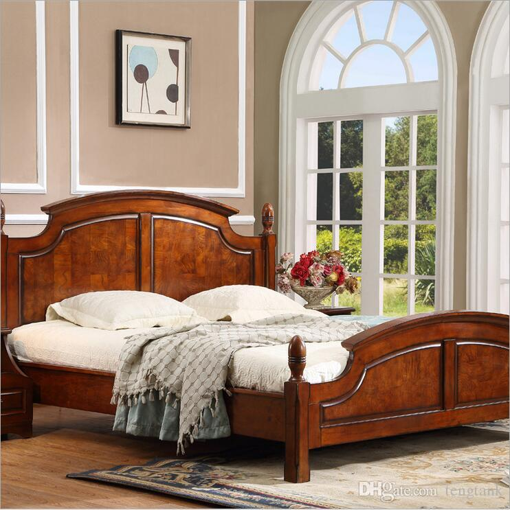 2019 Style Fashion European French Carved Bed Furniture 1.8 M 10292 ...