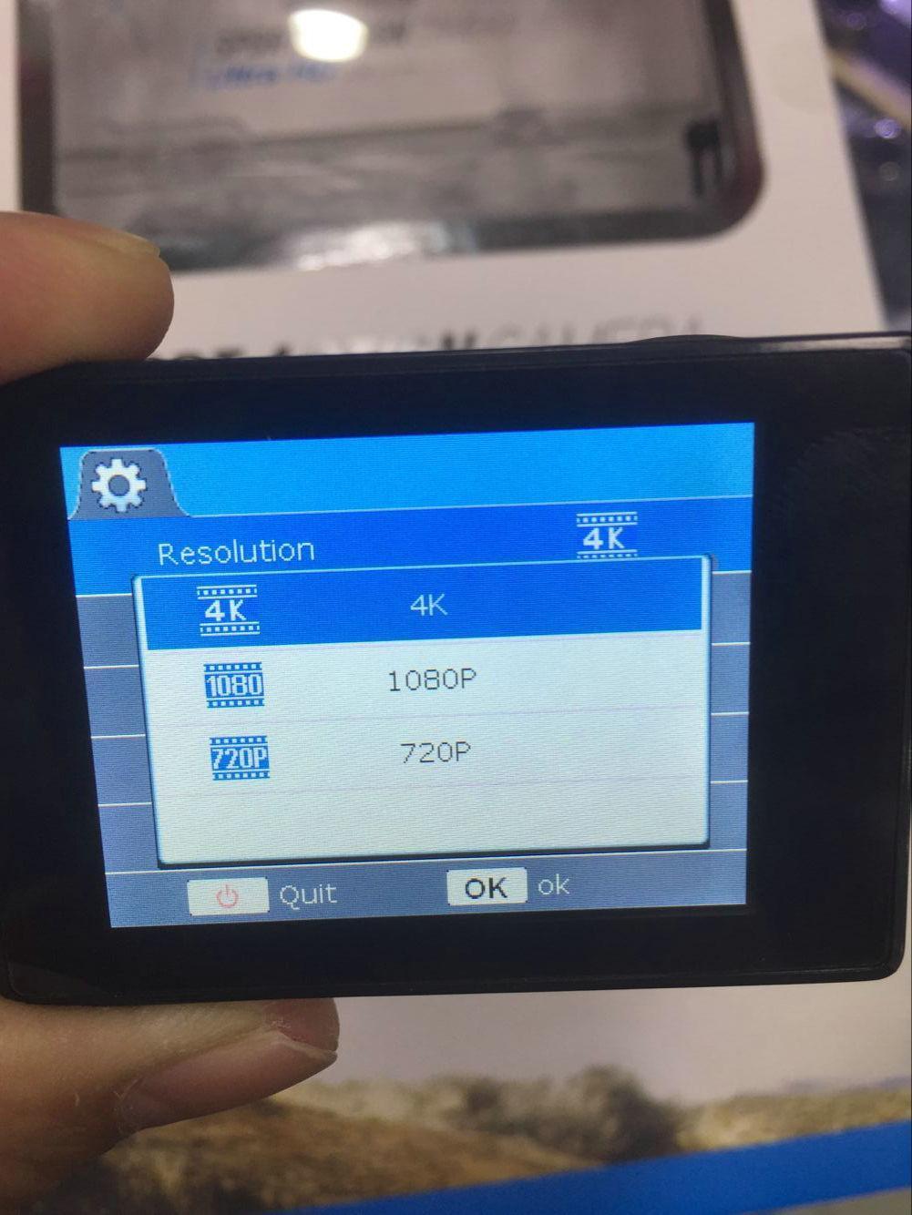 4K الكاميرا الرياضية HD العمل 2