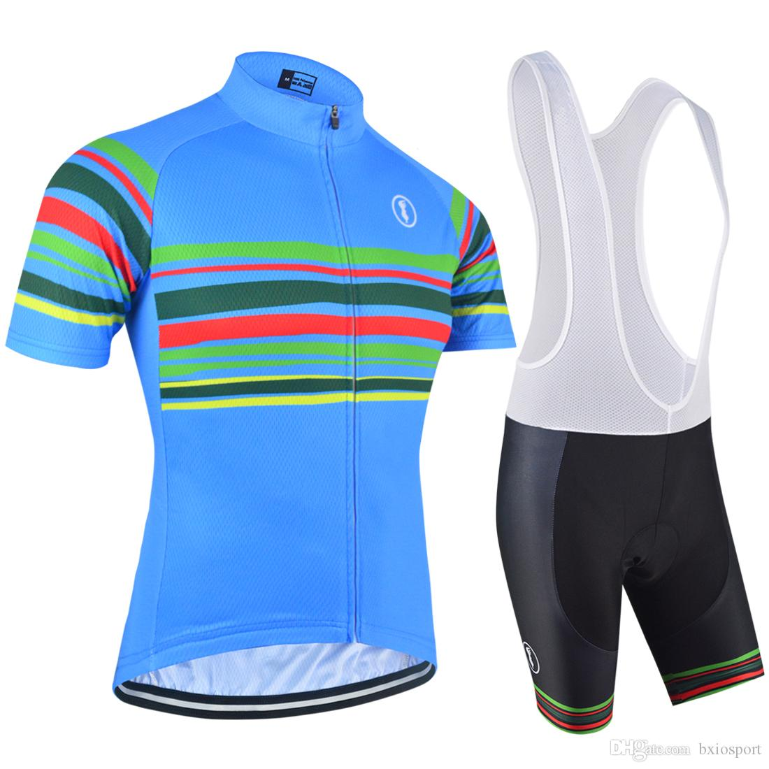 2017 New Design BXIO 3D Gel Pad Cycling Jerseys Bike Sport Wear Clothes  Summer Short Sleeve Bicycle Clothing Breathable Ropa Ciclismo BX 151 Bike  Wear ... 9b91aa15f