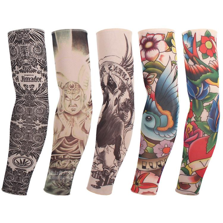 2018 tattoo cuffs flower arm cuff tattoo breathable for Best sunblock for tattoos