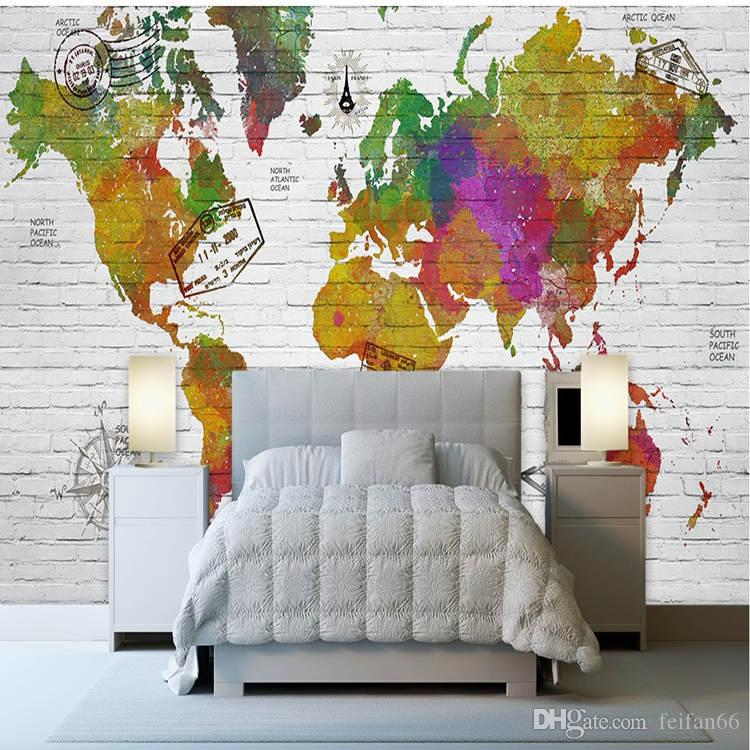 3d european style custom made world map office culture living room 3d european style custom made world map office culture living room bedroom sofa background wallpaper seamless large scale murals paper wallpapers special gumiabroncs Choice Image