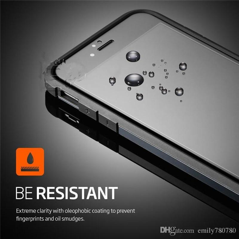 For IPhone 6 6s Full Cover Glass, Full Screen Tempered Glass for iPhone 6 Plus /6s Plus,Premium Oil Resistant Coated Glass