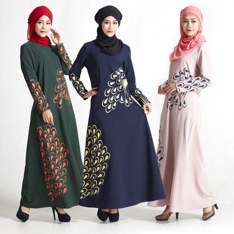 2018 830 2017 New Arrival Muslim Women Clothing Abaya Styles Dubai Malaysia Robe Abaya Feathers