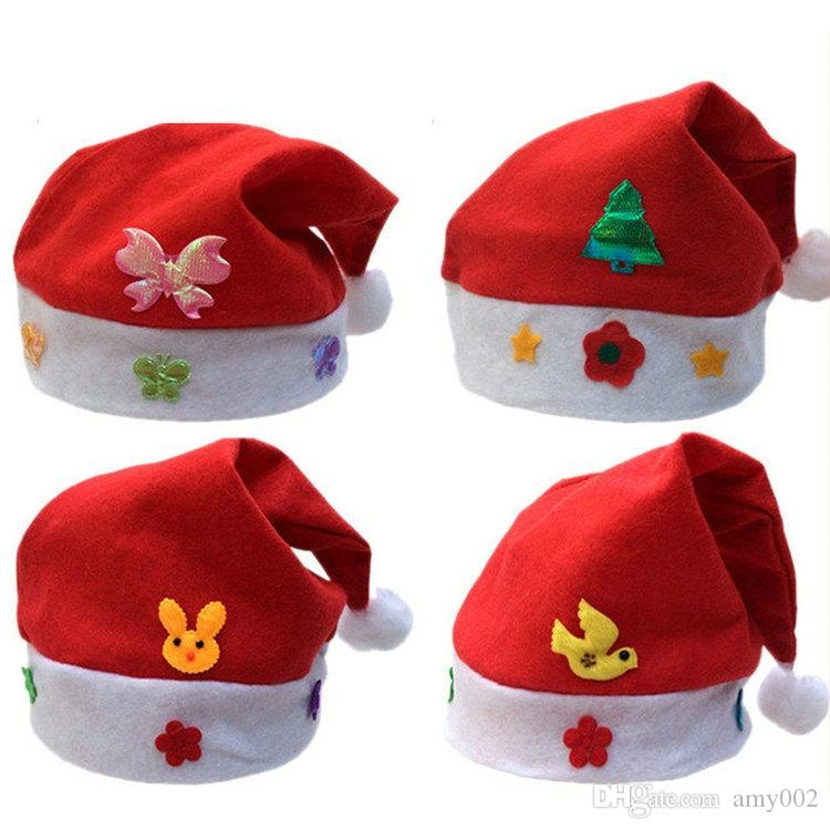 017c0e81c827f Wholesal Christmas Hat Cosplay Hats Thick Ultra Soft Plush Santa Claus Hat  Cute Adults Christmas Cap Christmas Supplies Toy Christmas Cool Christmas  Toys ...