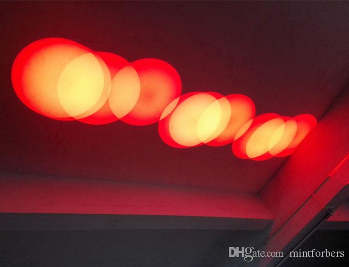 4 шт. / Лот DJ Светодиодный прожектор прожектор 90 Вт Белый светодиод Dj Освещение сцены Бесплатная доставка DMX 14 каналов