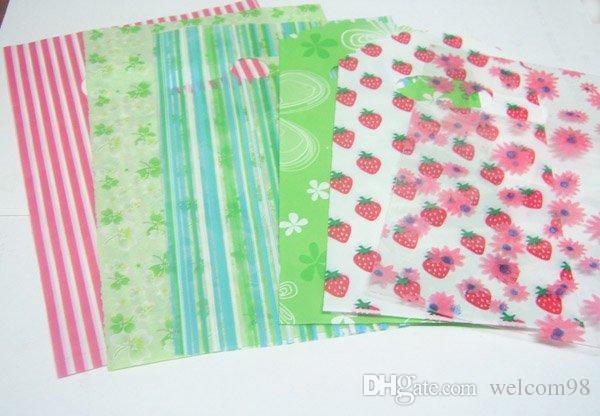 / Mix Colors Design Design Borse da regalo di plastica Borse Shopping Gioielli Packaging Display WB29