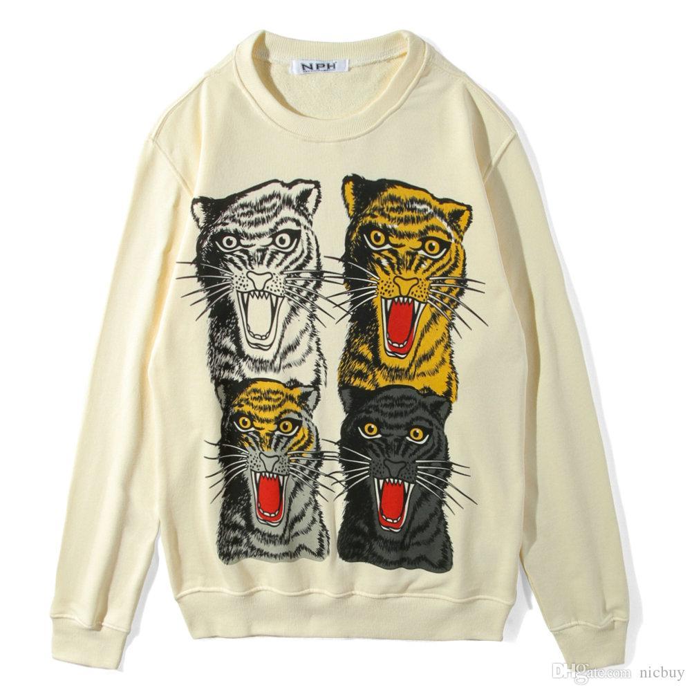 303acc6dc3 2018 Autumn Fashion For Men Luxury Designer Brand Tag Clothing ...