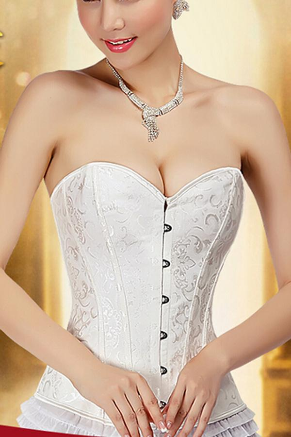 2016 New Bridal Corset for Formal Dress Plus Size Brand Bridal Strapless Bras for Wedding Dress S0035#