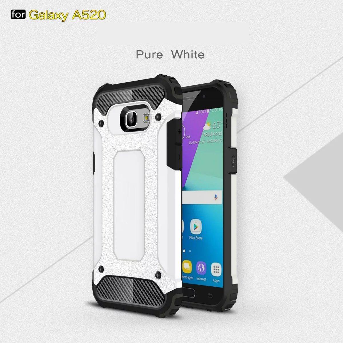 FÜR Samsung Galaxy A3 A5 A7 2017 J7 PLUS S9 S9 PLUS A5 2018 A8 2018 Rüstung Hybrid Defender Fall TPU + PC Stoßfest Abdeckung Fall 50 TEILE / LOS
