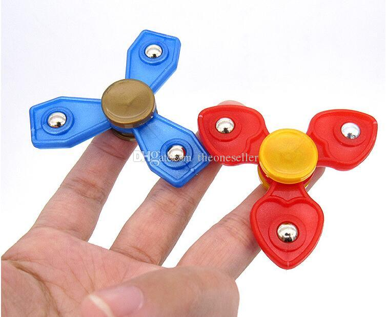 High Cost Performance 2017 EDC Hand Spinner Fingertip Gyro Hand Spinner Decompression Anxiety Fidget Spinner Toy