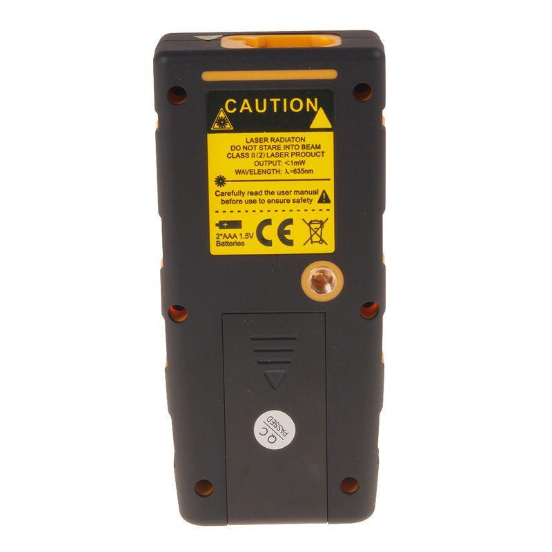 핸드 헬드 100m / 328ft 디지털 LCD 레이저 거리 영역 측정기 범위 측정기