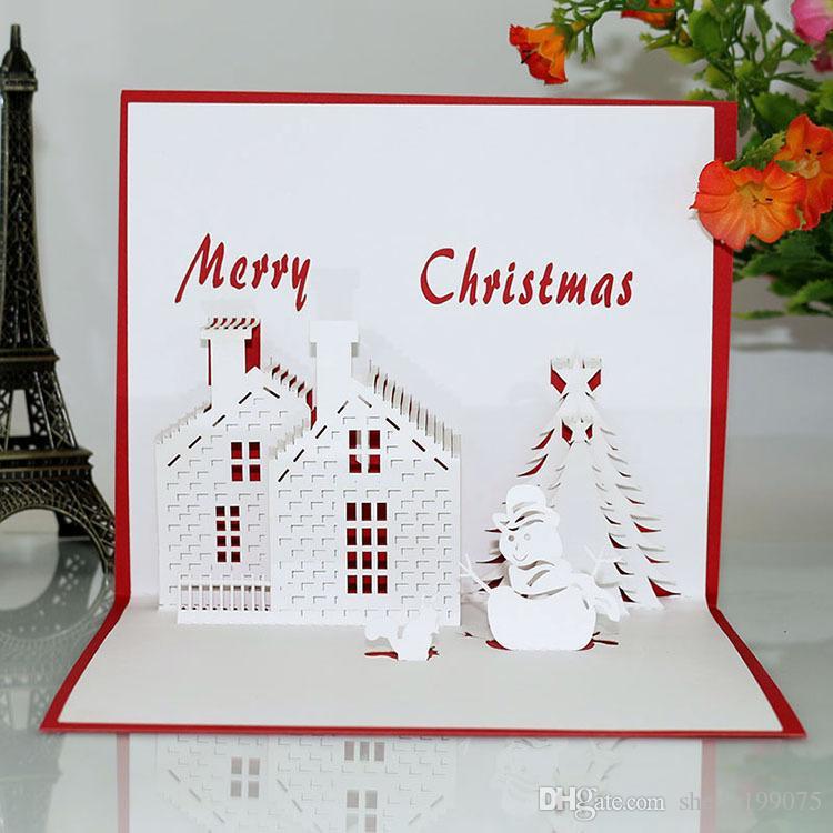 Открытка на День Рождения с Рождеством и Рождеством Открытка Открытка на День Святого Валентина