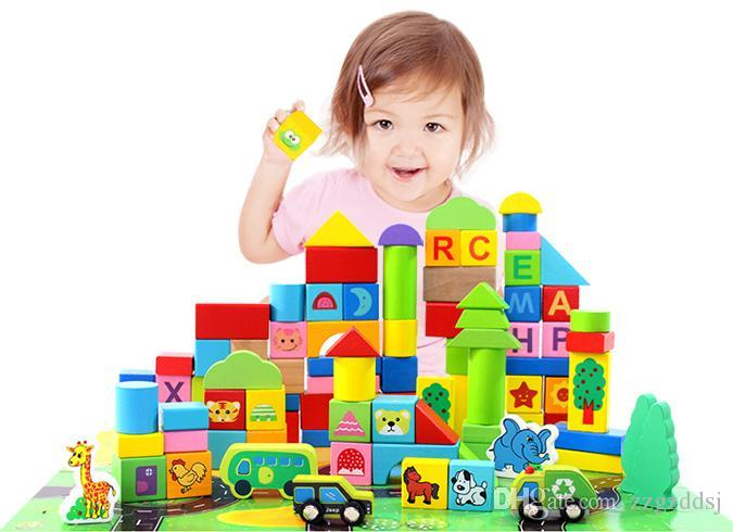 Construction Toys For 2 Year Olds : Building blocks toys years old boys and girls