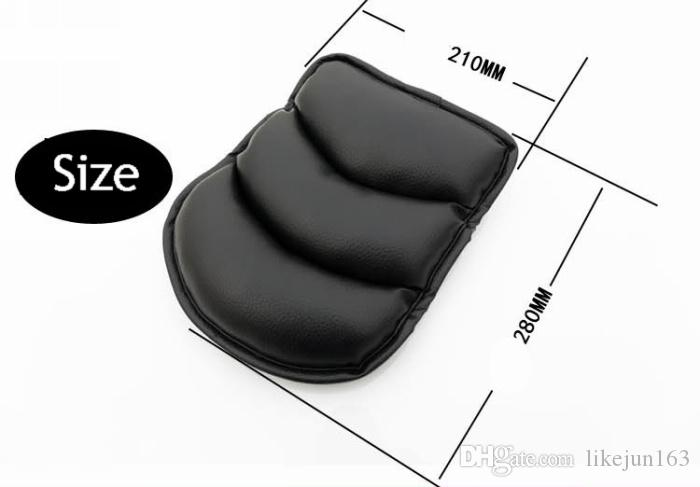 품질 SUV 자동차 좌석 팔걸이 패드 매트 중앙 콘솔 스토리지 커버 부드러운 가죽 자동차 인테리어 액세서리