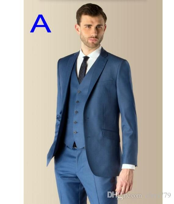 Tailor Made Men Suits New Style High Quality Men Wedding Suits ...
