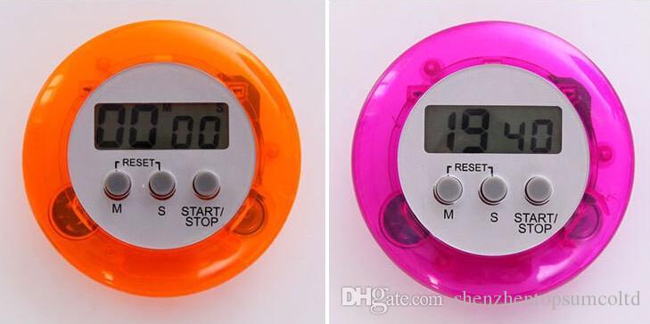 OEM-witte magnetische LCD Digitale keuken Countdown Timer Alarm met standaard