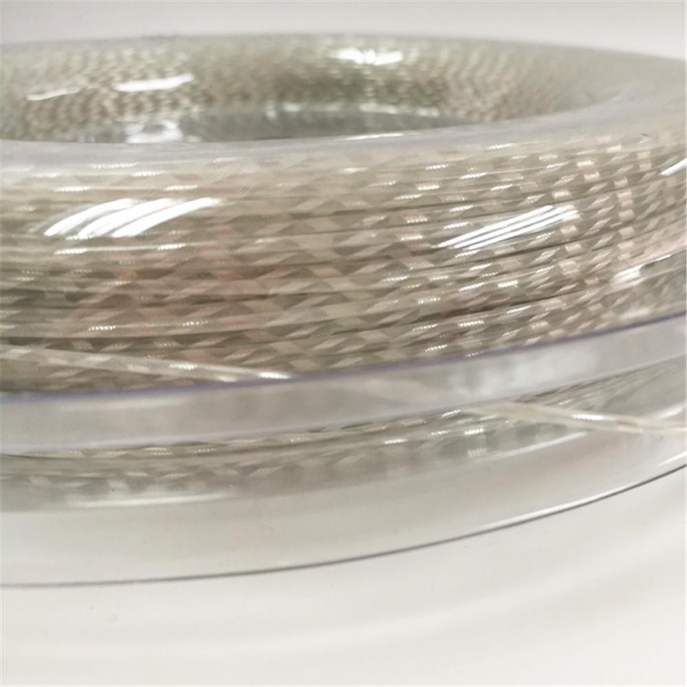 Calibre de nylon retrátil durável barato de KELIST na corda da raquete de tênis de 1.35MM 200 m / reel