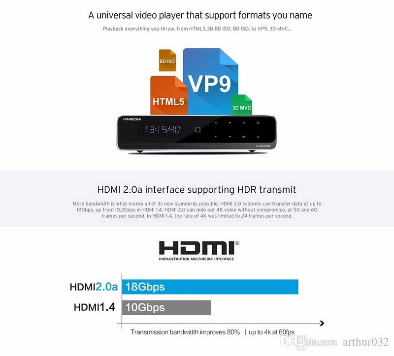 Модернизацию В10 про Hi3798CV200 4К и HDR-телевизор коробка 2 г/16 г 802.11 ac с 1000м беспроводной локальной сети Долби ДТС 3.5