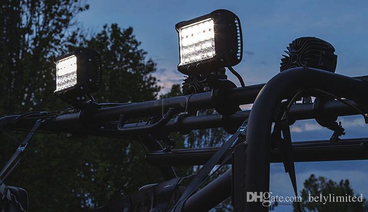 6.6 inç 72W LED ÇALIŞMA IŞIĞI BAR 4ROWS COMBO HAFİF UTE KAMYON SUV IŞIĞI
