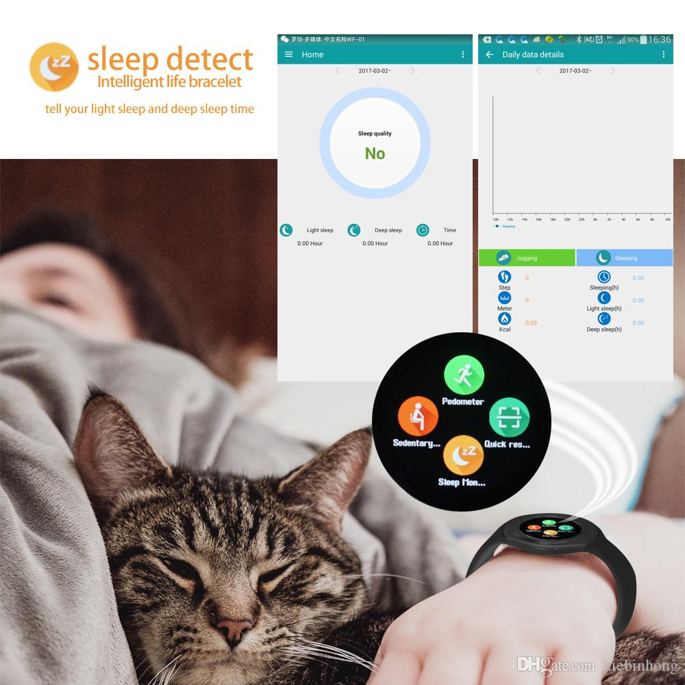 """Y1 Smart Watch 1.54"""" Touch Screen Fitness Activity Tracker Sleep Monitor Pedometer Calories Track support SIM card solt"""