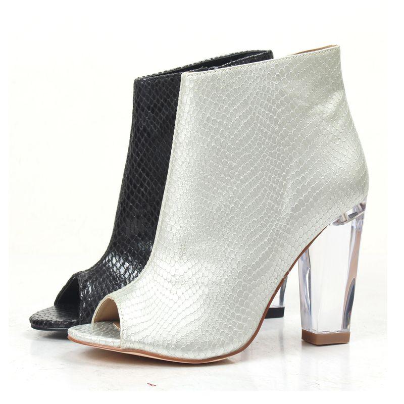 Compre TOP Mujeres Sandalias Botas Peep Toes Tacones Altos Zapatos  Serpientes Kin Botas De Moda Fiesta Sexy Sandalias A  39.2 Del Brew  270af2b2d383