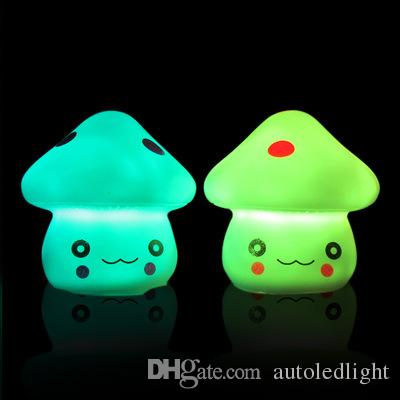 Change led small night novelty Light Colorful animal lovely Nightlight Cute Small LED Night Light for Christmas Gift