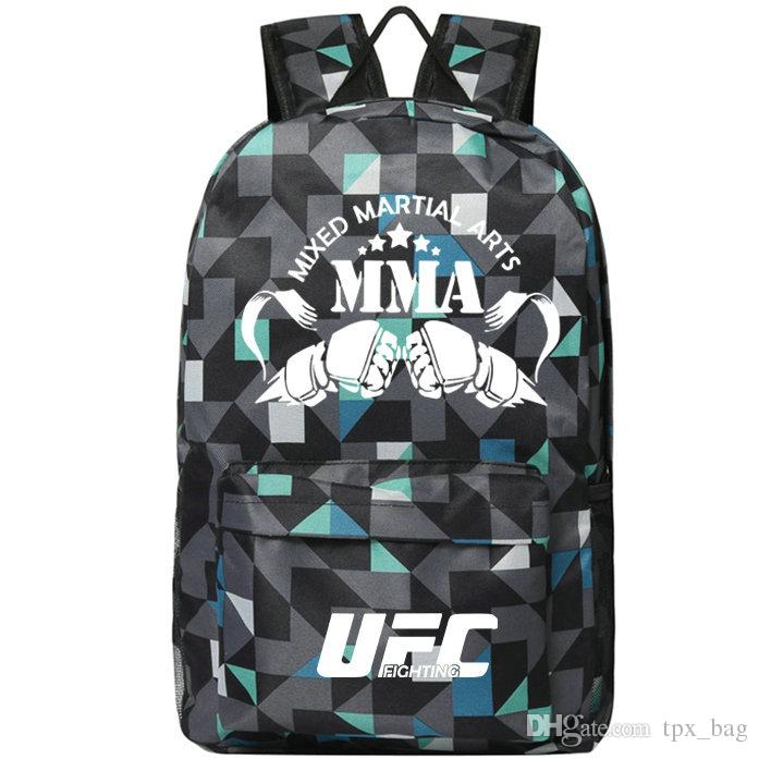 MMA backpack Mixed Martial Arts daypack Player schoolbag Fighting rucksack Sport school bag Outdoor day pack