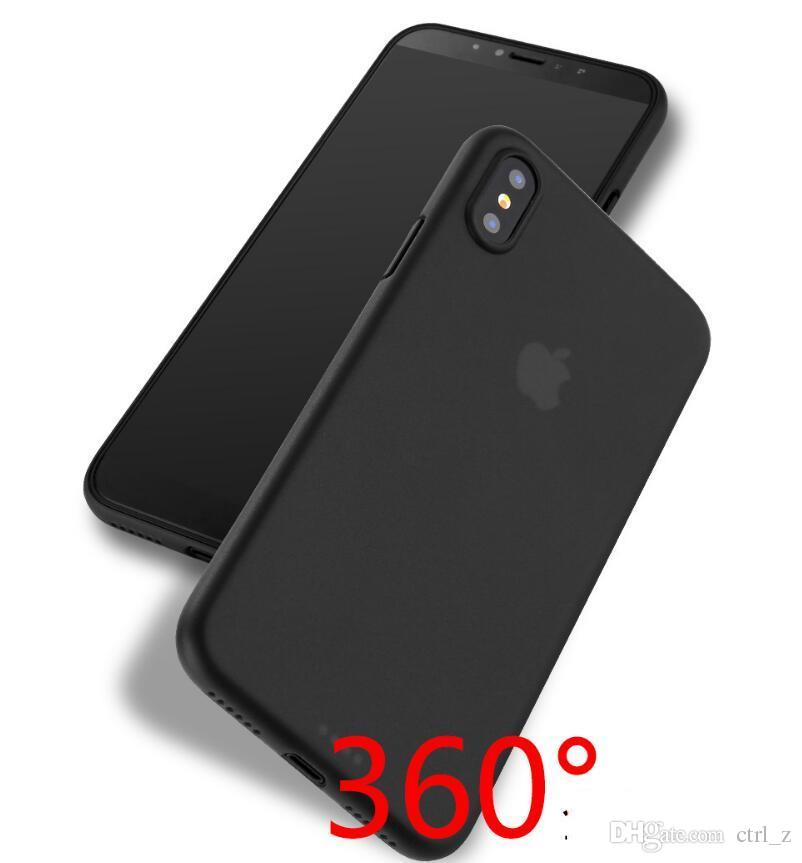 huge selection of 1fba3 c865e For iphone X 8 case 0.3mm ultra thin slim matt clear case cover case for  iphone 7 6s 6 plus
