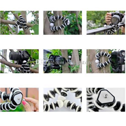Large Size flessibile del polipo Bubble Supporto treppiedi il Digital Compact Camera DSLR libera trasporto del DHL FEDEX 0001