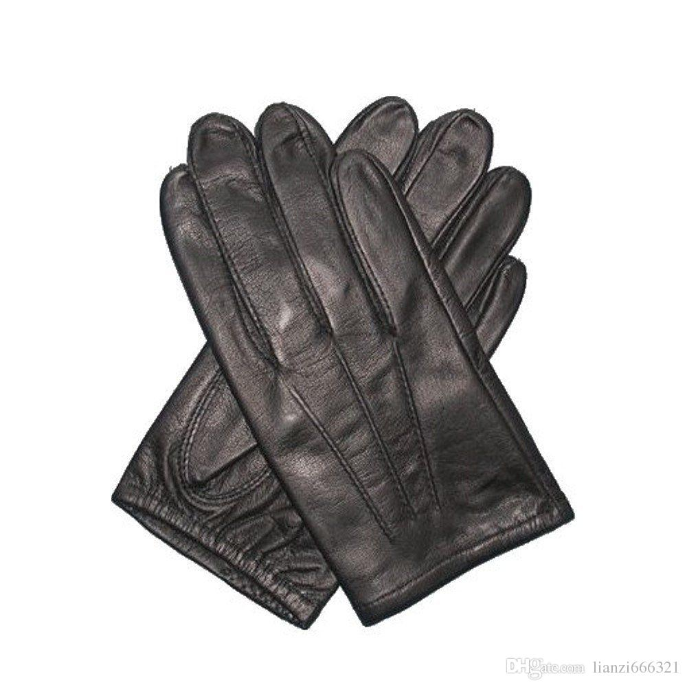 HOT New Men's Police tactical leather gloves black Tops size M/L/XL Best Price K144
