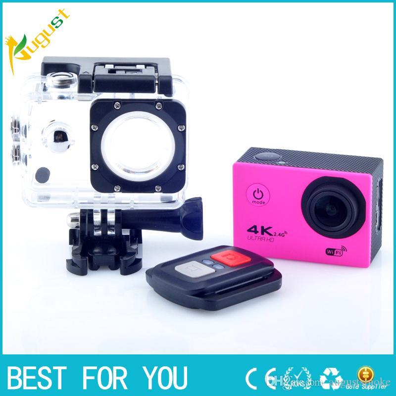 AN4000 4K 30fps 16MP WiFi Action Sports Camera 1080P 60fps Full HD 4X Zoom  Waterproof 40m 2