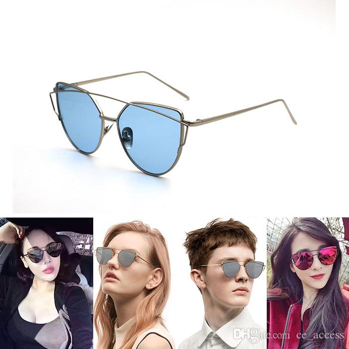 54da19ce78af 2017 Gentle Monster Sliver Mirrored Lens Sunglasses Prescription Sunglasses  Glasses Frames From Ce access