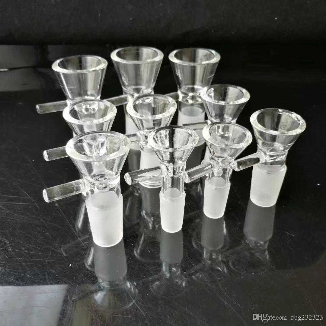 Accessoires de bangs en verre pour adaptateur d'entonnoir