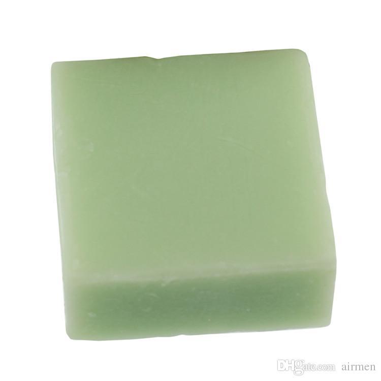 Nova OMO Samambaia Leite Chá Verde Sabonete Cuidados Com A Pele Sabão Natural profunda cleance Rosto Handmade Sabonete livre FEDEX