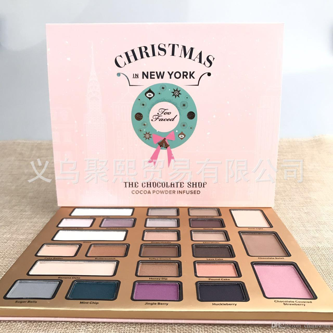 2017 too makeup christmas in new york the chocolate shop for New york in christmas 2017