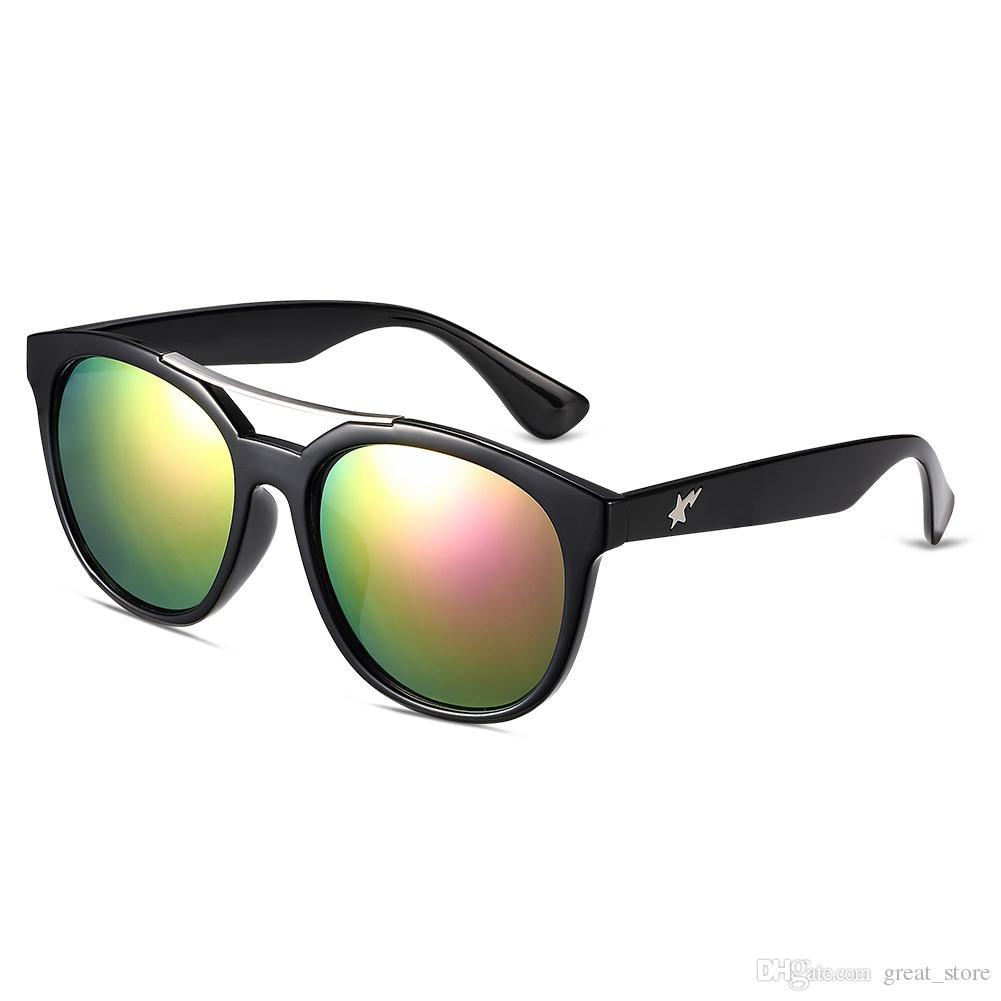 Compre Gafas De Sol Calientes De La Venta Para El Marco Púrpura ...