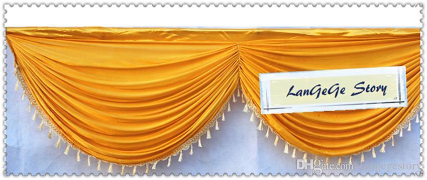 Turchese / Siver / Verde / Colorato / Party e banchetto Decorazioni utilizzate la sfilata di nozze / tavolo o scale dell'hotel / 10m di lunghezza