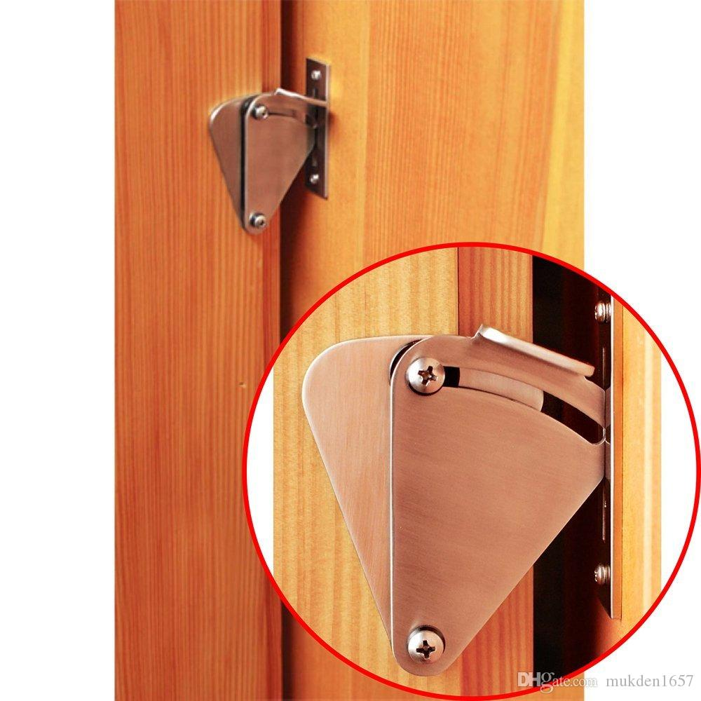 2018 New Whole Sale Lock Used For Wood Sliding Barn Door Hardware