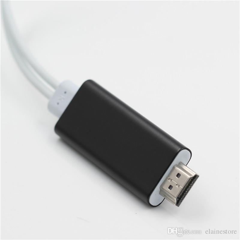 Cavo USB 1080P 7 HDMI Cavo adattatore HDMI TV HD Dock HDMI 8 con scatola al dettaglio